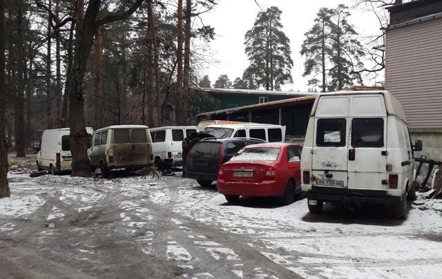 Разборка микроавтобусов Фиат Бориса Ефимовича в Киеве