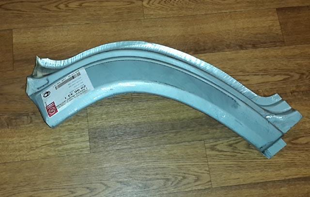 Задняя часть арки переднего крыла Fiat Ducato / Peugeot J5 1991 г.