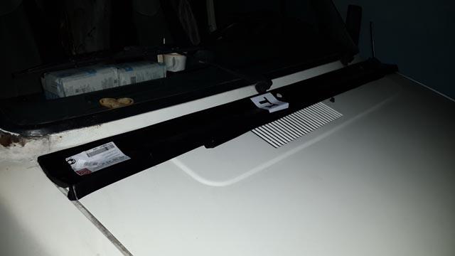 Планка под лобовое стекло Fiat Ducato