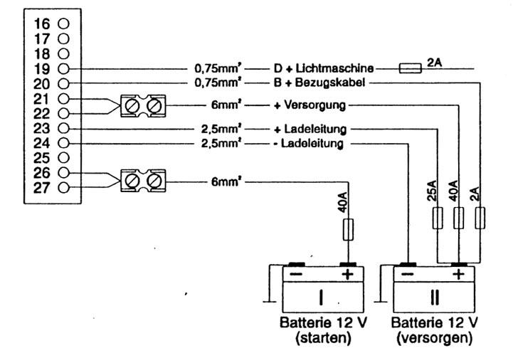 Схема подключения 12-контактного разъема электроблока